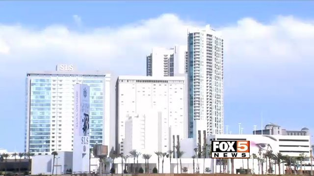 For the SLS Las Vegas, a three-year renovation meant ridding the Sahara's familiar designs. The Sahara stayed open for 59 years before closing for renovations in 2011. (FOX5)