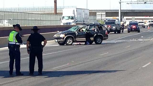 Woman charged in I-15 crash that killed child, injured 6
