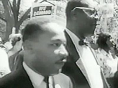 Martin Luther King, Jr shown in an undated image. (File)