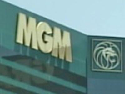 The exterior of the MGM Grand appears in this undated file photo. (File/FOX5)
