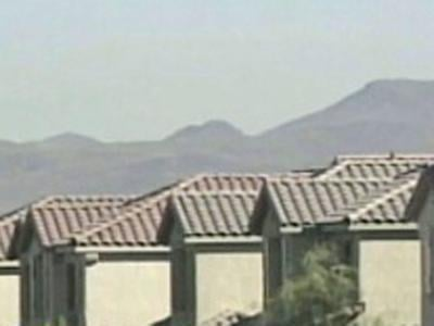 Homes in the Las Vegas area are shown in an undated image. (File)
