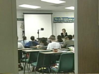 Students learn in a classroom. (File/FOX5)