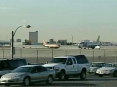There are no current plans to change security procedures at McCarran Airport. (FOX5 file)