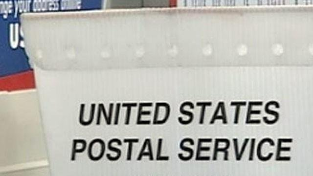 A USPS box is shown in an undated image. (File)