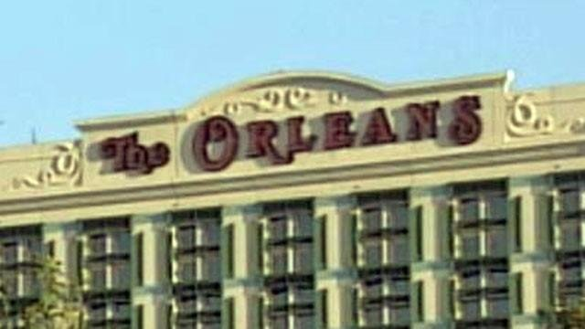 The Orleans Hotel and Casino shown in an undated image. (File)