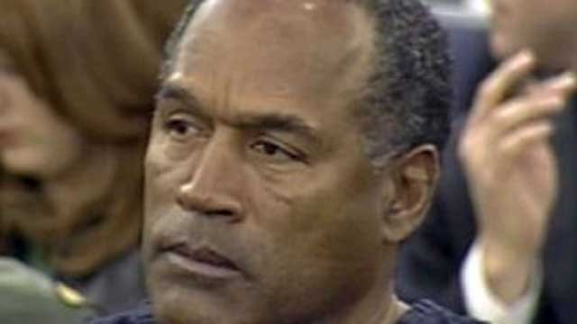 O.J. Simpson is shown in an undated file image.
