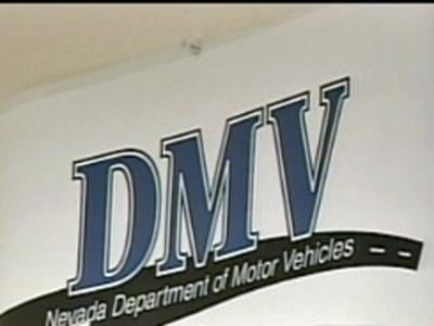 A sign at a Department of Motor Vehicles office in Las Vegas. (File)