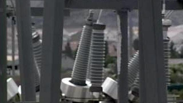 Equipment at a NV Energy substation is seen in this undated image. (File/FOX5)