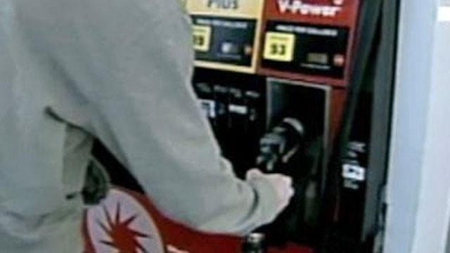 An undated pictures of  a driver preparing to fill his vehicle's gas tank. (File/FOX5)