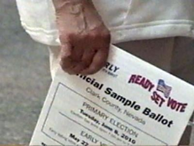 A ballot is shown in an undated image. (File)