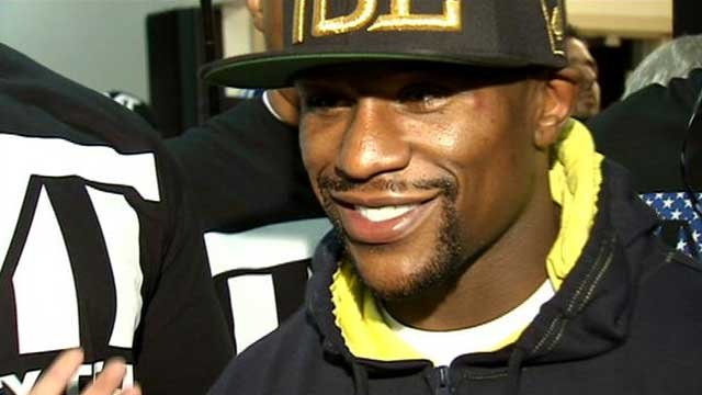 Floyd Mayweather Jr., seen in undated image. (FOX5 FILE)