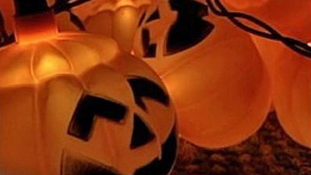Festive jack-o'-lantern lights are seen in this undated file image. (File/FOX5)