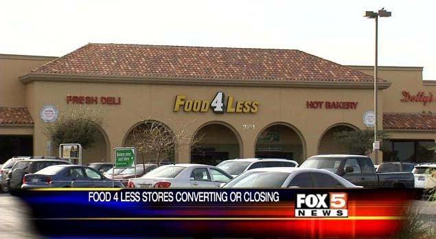 Food 4 Less plans exit of Las Vegas area