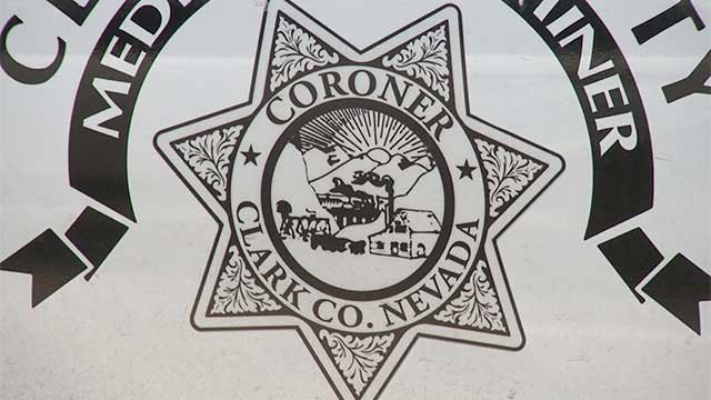 The emblem for the Clark County Coroner's Office is shown in an undated image. (File)