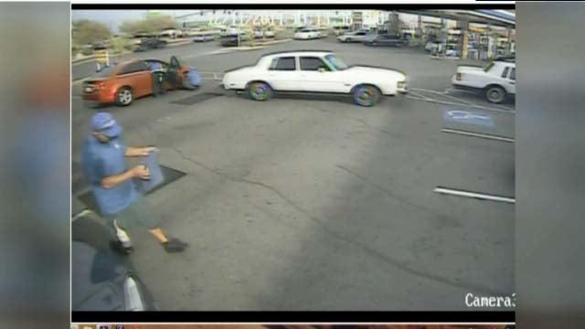 Las Vegas Car Wash Hit And Run