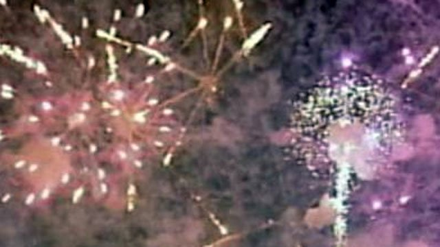 Fireworks explode overhead in this undated file image. (File/FOX5)