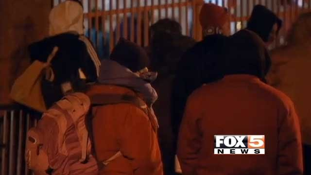 Homeless individuals are shown in an undated image. (FOX5 FILE)