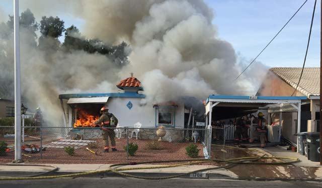 Dog Dies In East Las Vegas House Fire Cincinnati News