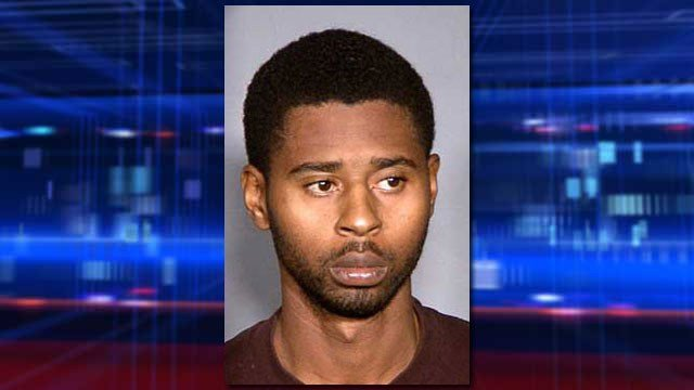 Markiece Palmer, seen in his 2012 booking photo, was found guilty on charges of child abuse and murder tied to the death of his 7-year-old stepson. (Source: LVMPD)