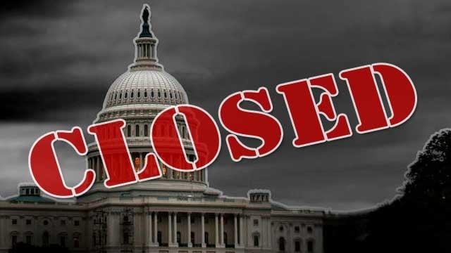 Governo dos EUA começa seu fechamento parcial