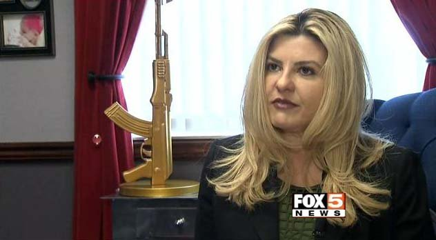 Nevada Assemblywoman Michele Fiore speaks with FOX5 in her Carson City office on Tuesday, Feb. 3. (FOX5)