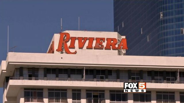 The Riviera hotel-casino, which could change hands to the LVCVA, was first opened on the Las Vegas Strip in 1955. (FOX5)