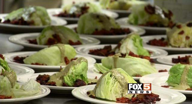 Desserts created by Southwest Career and Technical Academy students on Tuesday, Feb. 24. (FOX5)