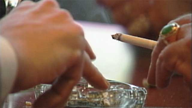 Nevada received mostly failing grades when it came to anti-smoking efforts. (File)