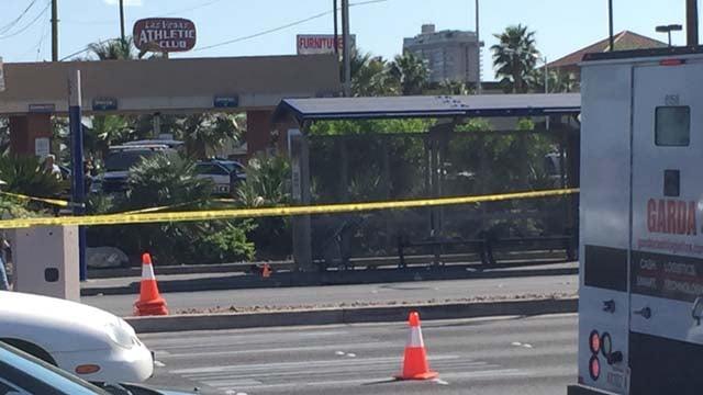 Witnesses recount bus stop crash that killed 2, arrest
