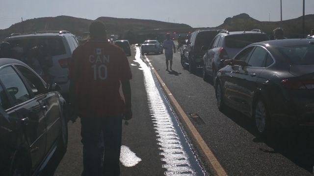 Gas spill shuts down 1-15 near Barstow - Las Vegas news - NewsLocker