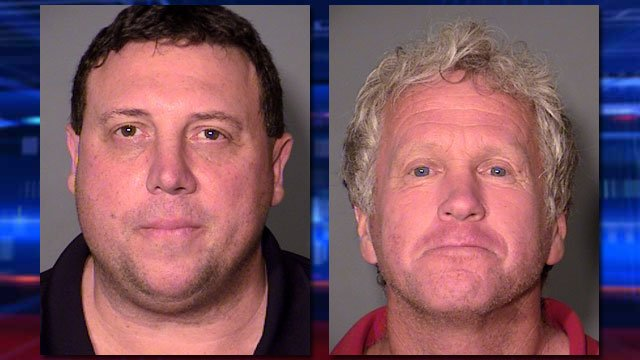 Cody Stoneking, left, and Karl Bachman, right. (LVMPD)
