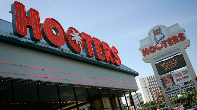 Hooters hotel-casino. (AP Photo)