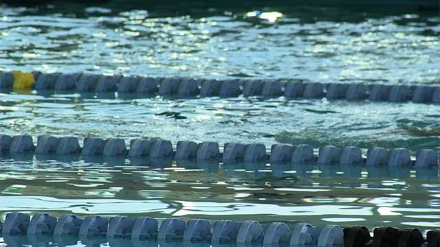 Las Vegas-area public swimming pool. (File/FOX5)