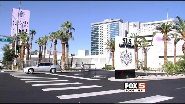 The SLS hotel-casino on the Las Vegas Strip is seen in this undated file image. (File/FOX5)