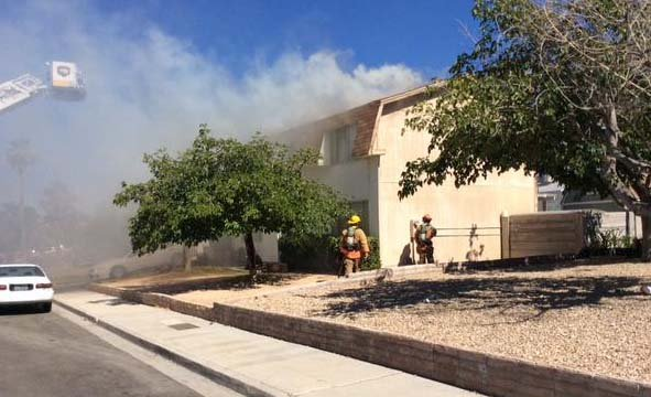 Longtime residents displaced by west las vegas house fire for Las vegas home source