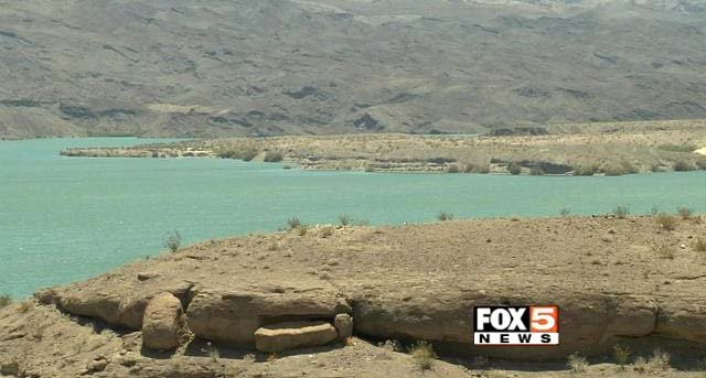Lake Mohave appears in this image from July 1, 2015. (Jason Valle/FOX5)