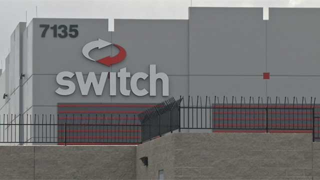 Switch's Las Vegas area facility, seen in an undated photo. (FOX5 FILE)