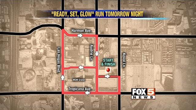 5K run to affect traffic around Las Vegas Strip  FOX5 Vegas  KVVU