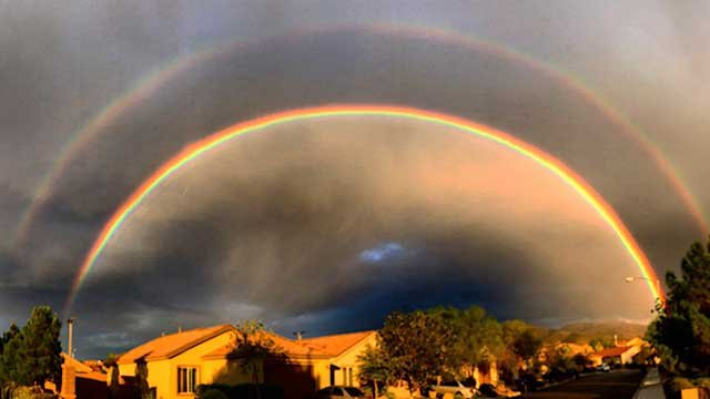 Your photos: Double-rainbow appears in Las Vegas - FOX5 ...