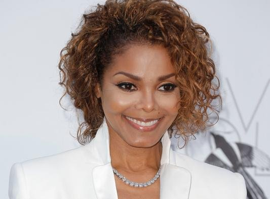 Singer Janet Jackson arrives at amfAR Cinema Against AIDS benefit at the Hotel du Cap-Eden-Roc, during the 66th international film festival, in Cap d'Antibes, southern France, May 23, 2013. Photo by Todd Williamson/AP