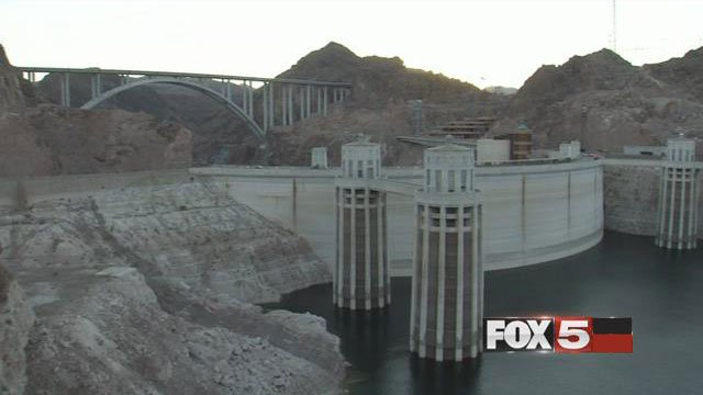 The Hoover Dam was dedicated in Sept. 30, 1936. The U.S. landmark is seen in this undated photo. (FOX5)