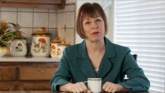 One-time U.S. Senate candidate Sharron Angle, seen in a video announcing her campaign in 2011. (Source: Angle campaign)