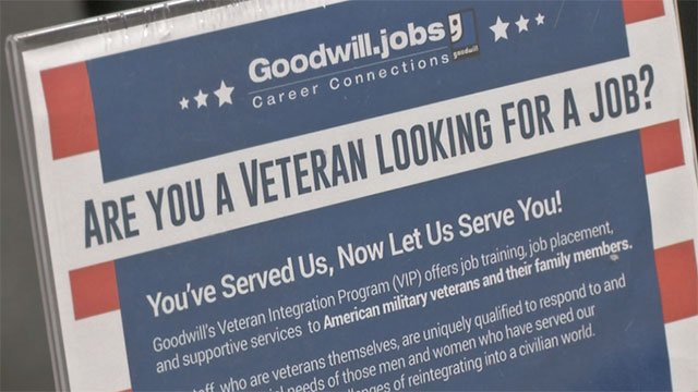 Goodwill of Southern Nevada touts its Veteran Integration Program with job training and other supportive services to military veterans. (FOX5)