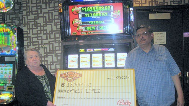 million degrees progressive slot machine