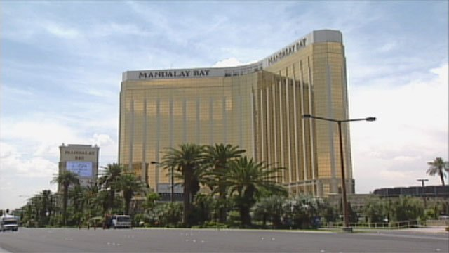 Mandalay Bay Hotel and Casino, seen in this undated photo. (FOX5)