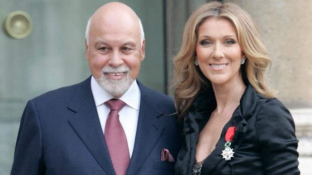 Celine Dion breaks down as she mourns late husband