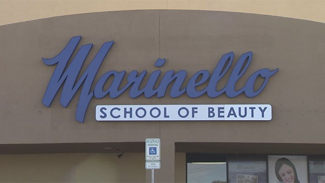 Marinello School of Beauty, shown here at its Henderson location in this undated photo. (FOX5)
