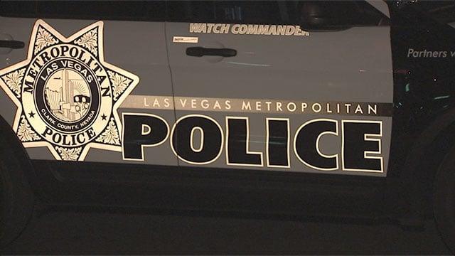 Side of Las Vegas Metro police vehicle. (File/FOX5)