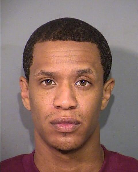Mugshot of Omar Talley (Las Vegas Metro Police Department)