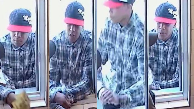 Las Vegas police released surveillance images of a robbery suspect. (Source: LVMPD)